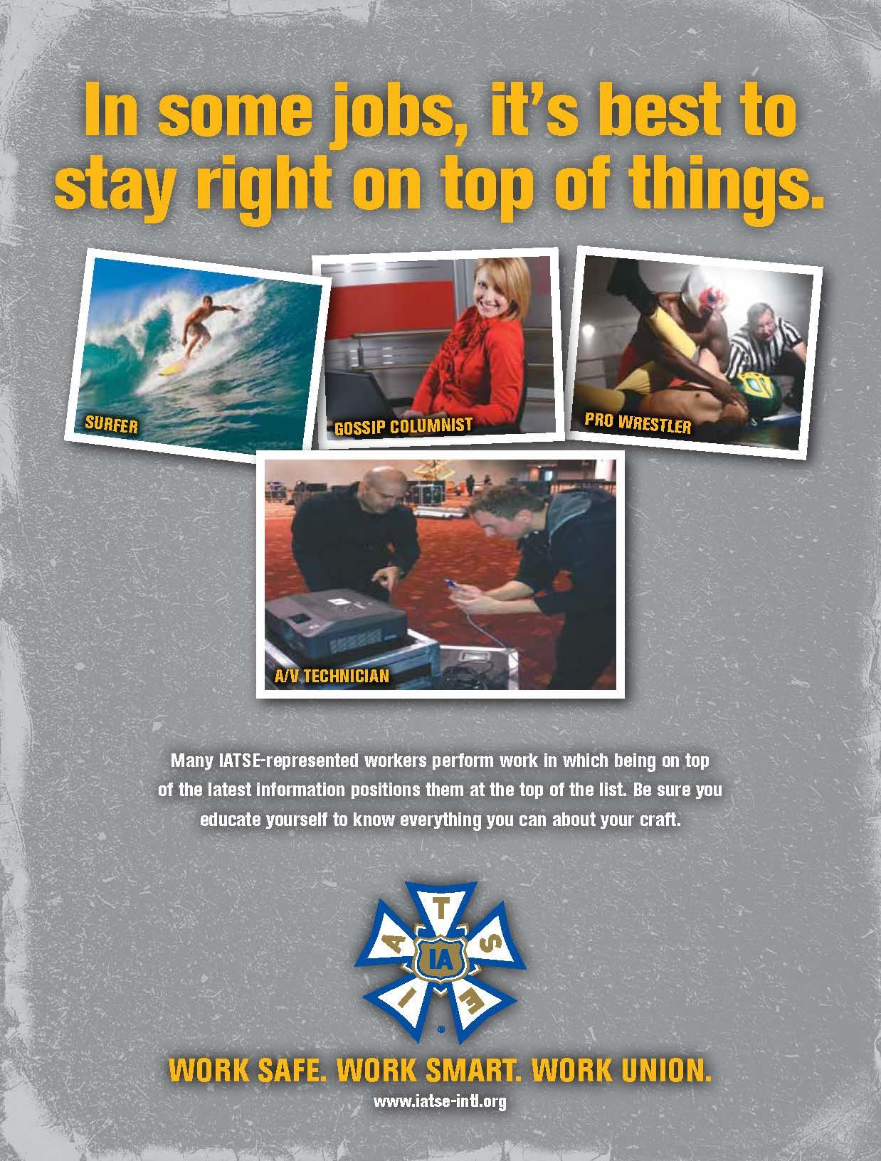Promoting Workplace Safety | IATSE Studio Mechanics Local 489